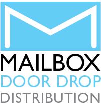 Mailbox Door Drop Distribution Logo